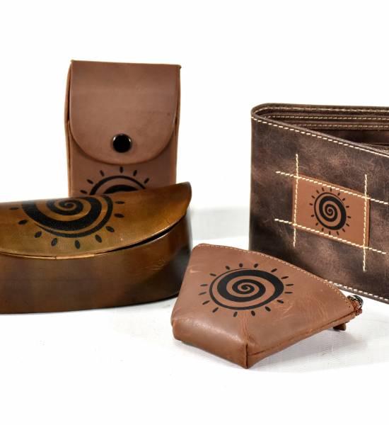 Nová kolekce peněženek a doplňků z pravé kůže