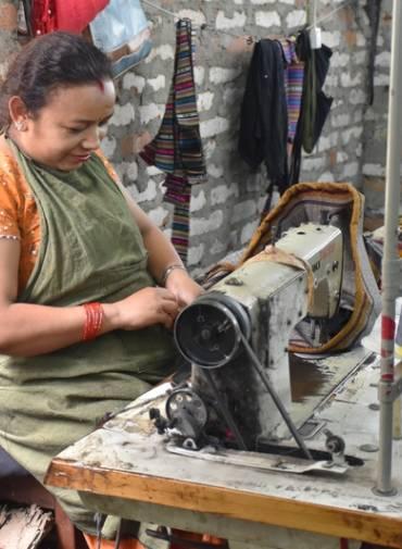 ROZHOVOR: Budování oděvní firmy v Nepálu
