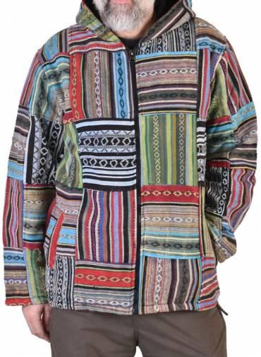 Osobité tibetské bundy, ponča a kalhoty