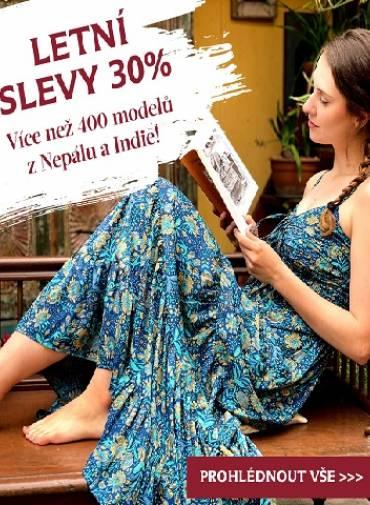 Načněte léto v novém kousku oblečení, který vám udělá radost a sklidí obdiv. Slevy 30% právě začínají.