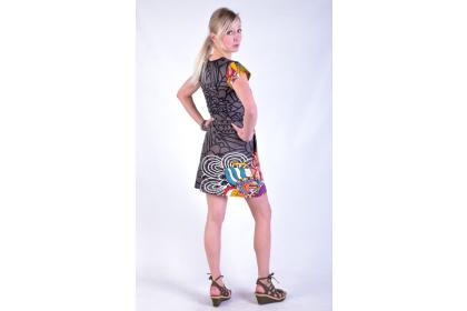 šaty s potiskem pro dračice