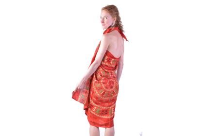 Jak uvázat sarong