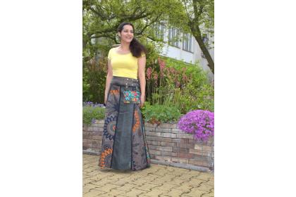 elegantní dlouhá cvoková sukně