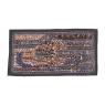 Unikátní patchworková tapiserie z Rajastanu, ruční práce, 80x45 cm