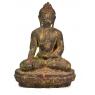 Unikátní socha, Buddha sedící na podstavci, 60cm
