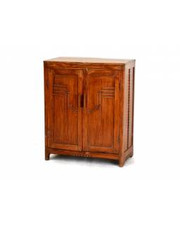 Skříňka z antik teakového dřeva, 75x35x92cm