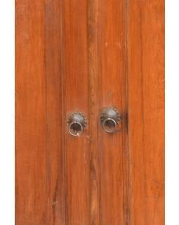 Komoda z antik teakového dřeva, 112x47x67cm