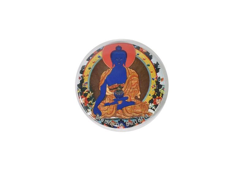 Magnetka Medicine Buddha, průměr 6,5cm
