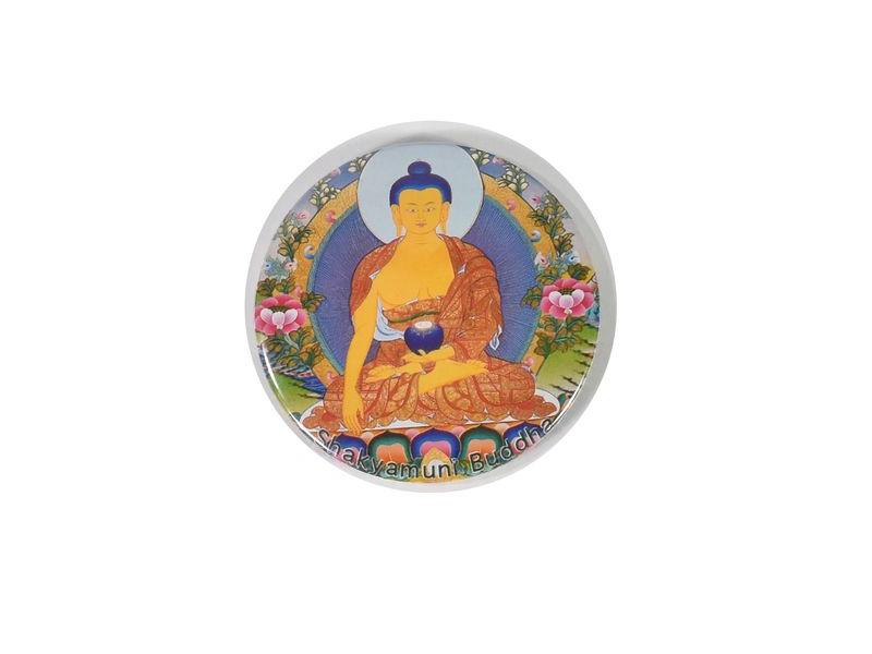 Magnetka Buddha, průměr 6,5cm