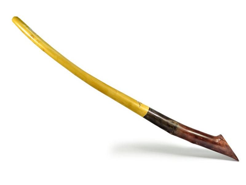 Didgeridoo, koncertní nástroj, javor, 195cm