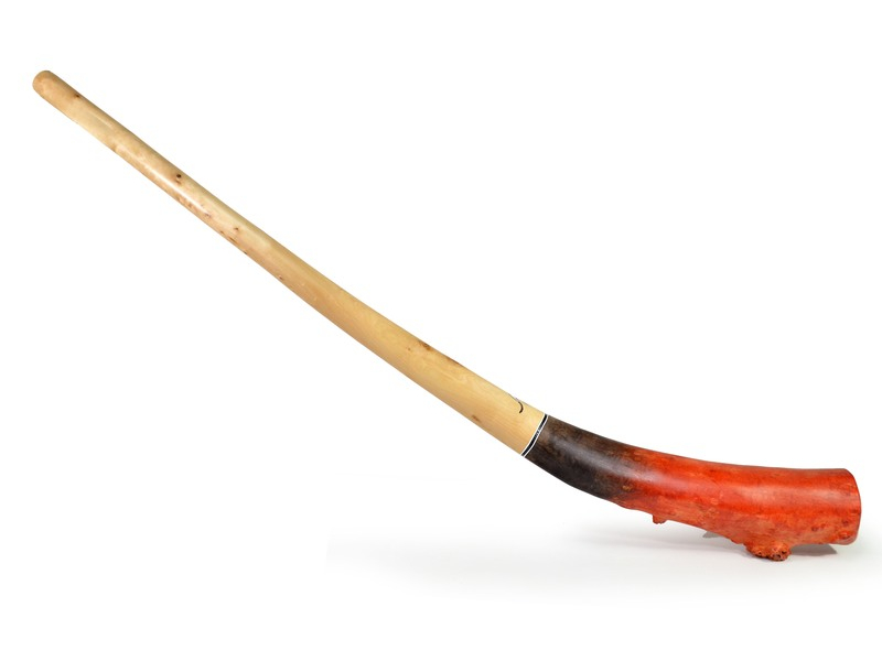 Didgeridoo, koncertní nástroj, bříza, 181cm