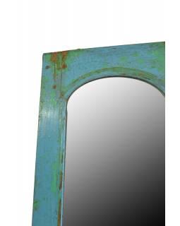 Zrcadlo v rámu z recyklovaného teakového dřeva, 36x62x3cm
