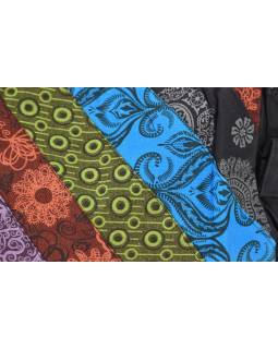 Taška přes rameno, patchwork, bavlna, popruh, kapsa, cca 37x25cm