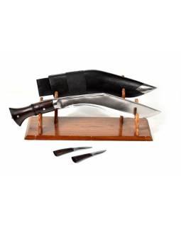 """Khukri nůž, """"World War new"""", 11"""", dřevěná rukojeť, nůž 42cm, čepel 28cm"""