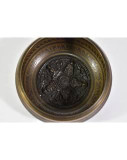 """Tibetská mísa, """"Gulpa"""", design 5 Buddhů, průměr 12,5 cm"""