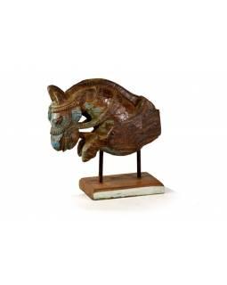 Hlava koně, antik, 38x15x38cm