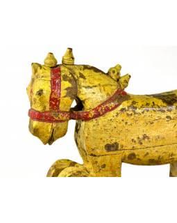 Hlava koně, antik, 38x15x42cm