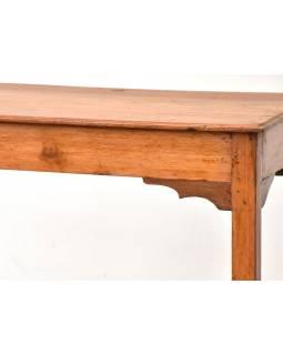 Psací stolek z antik teakového dřeva, 92x48x75cm