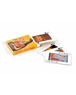 Hrací karty Kamasutra, 52 hracích karet