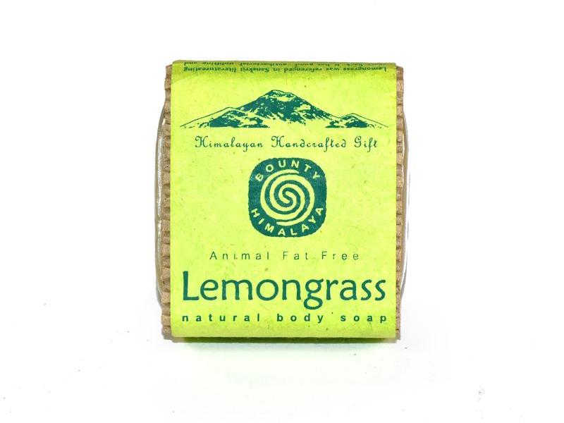 Ručně vyráběné mýdlo z Himaláje, citronová tráva,100g