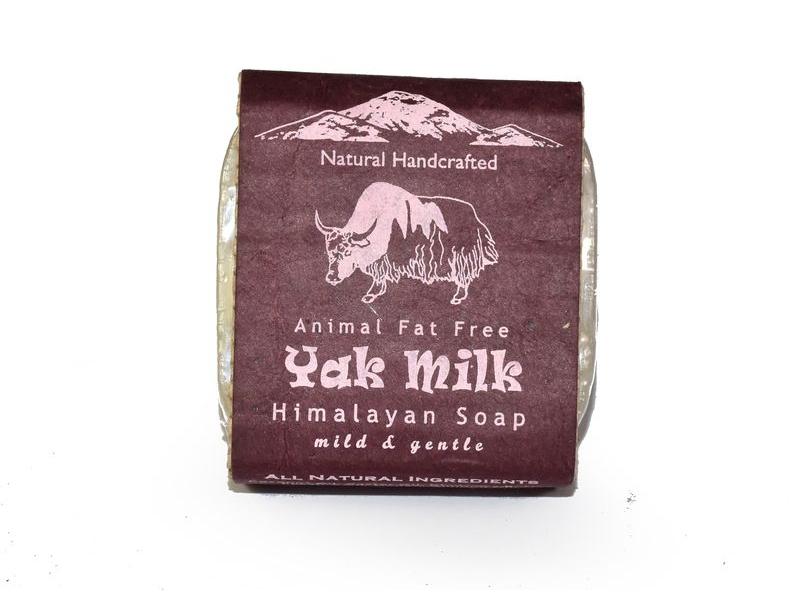 Ručně vyráběné mýdlo z Himálaje s jačím mlékem, 100g