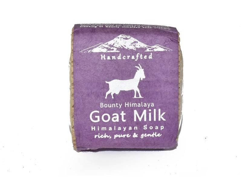 Ručně vyráběné mýdlo z Himálaje s kozím mlékem, 100g