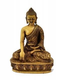 Soška Šákjamuni Buddha, světlý, 14cm