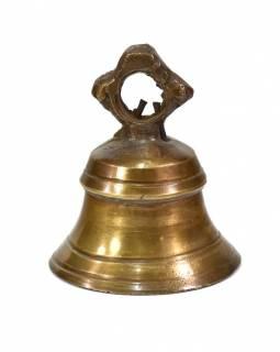 Zvonek, antik patina, 7x7x8,5cm