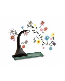 Věšáček na náušnice, rozkvetlý strom, 40x32cm