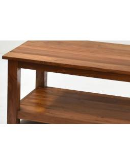 Konferenční stolek, antik teakové dřevo, 120x60x45cm
