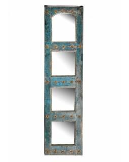 Zrcadlo v rámu ze staré okenice, 47x180x4cm