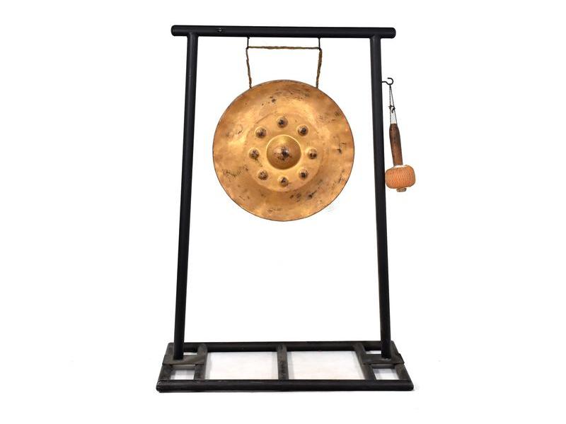 Gong se stojanem - průměr gongu 50cm