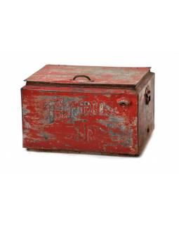 """Plechová lednička """"Thums Up"""", antik, 57x43x37cm"""