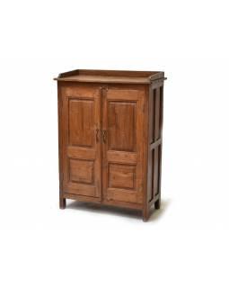 Skříňka z antik teakového dřeva, 80x40x110cm