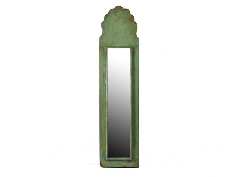 Zrcadlo v rámu z antik dřeva, 13x56x3cm