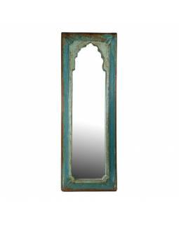 Zrcadlo v rámu z antik dřeva, 24x67x3cm