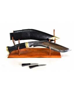 """Khukri nůž, """"World War"""", 11"""", rohovinová rukojeť, nůž 43cm, čepel 28cm"""