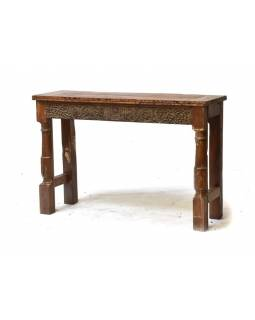 Konzolový stolek z antik teakového dřeva