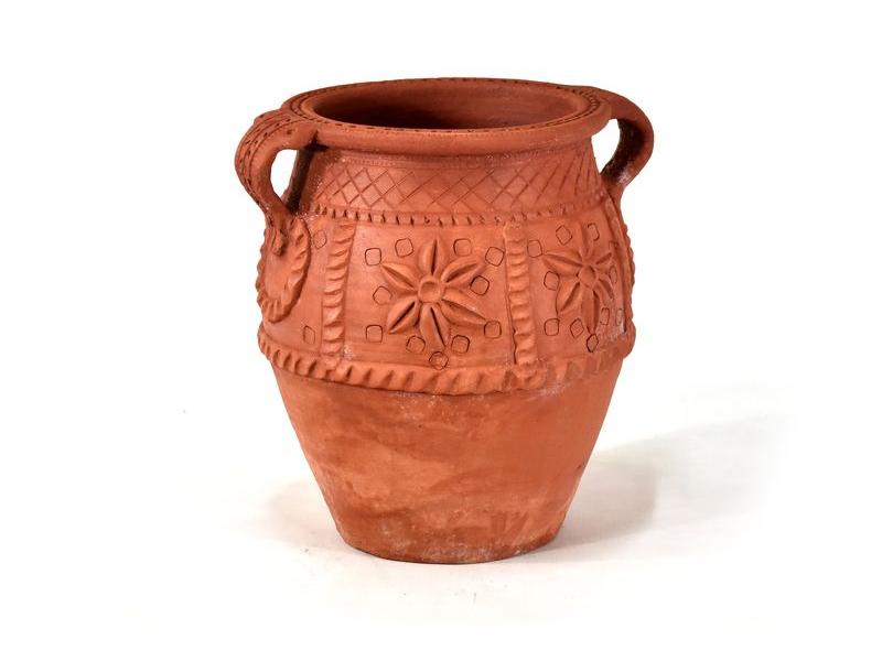 Keramická váza, výška 35cm