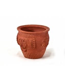 Keramická váza, výška 21cm, průměr 24cm