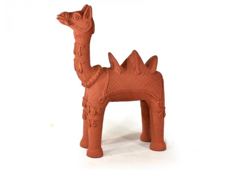 Keramická socha velblouda, 55x75cm