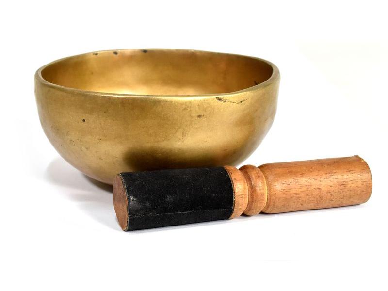 """Tibetská mísa, """"Jam"""", ručně tepaná, průměr 13cm"""