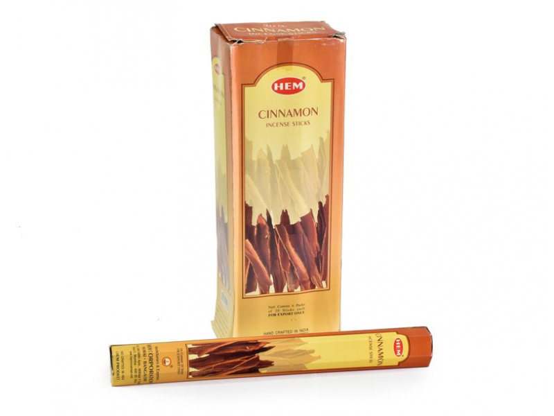 Vonné tyčinky Cinnamon Hexa, HEM