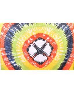 Letní sárong s ručním potiskem, block print, 115x170cm