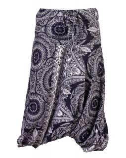 Thajské turecké kalhoty s potiskem, pružný pas