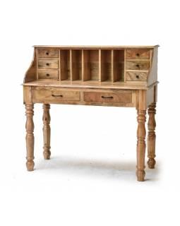 Psací stůl z palisandru, 115x50x114cm