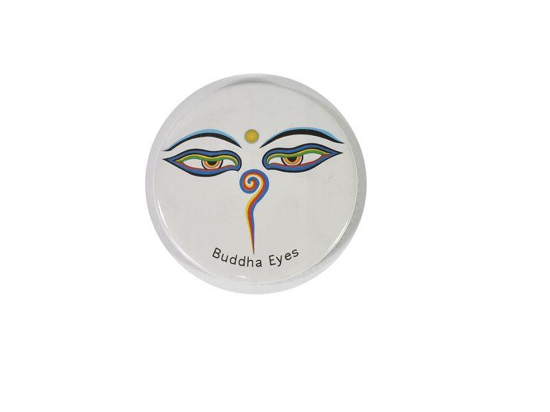 Magnetka Buddhovo oči, průměr 6,5cm