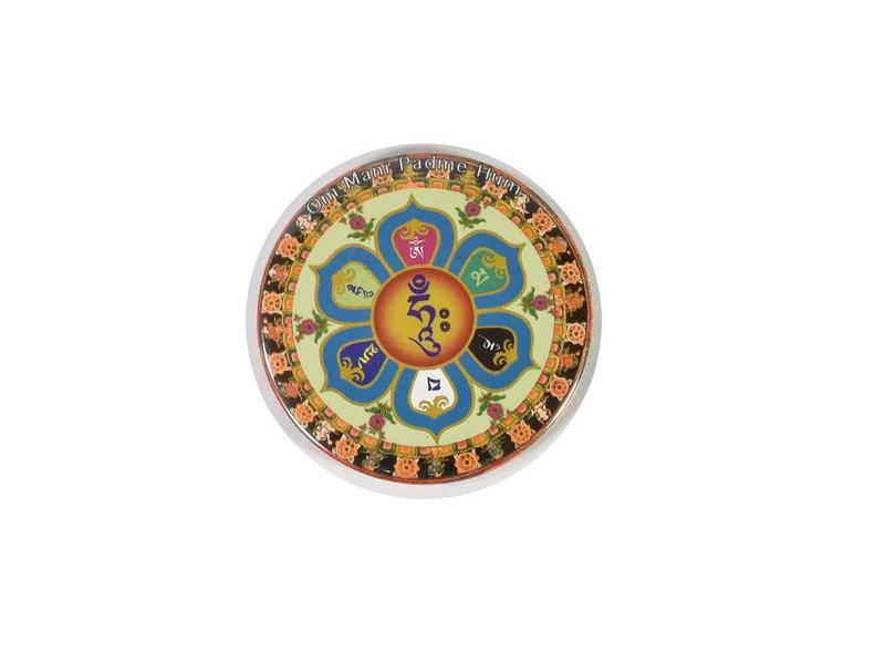 Magnetka Mantra, průměr 6,5cm