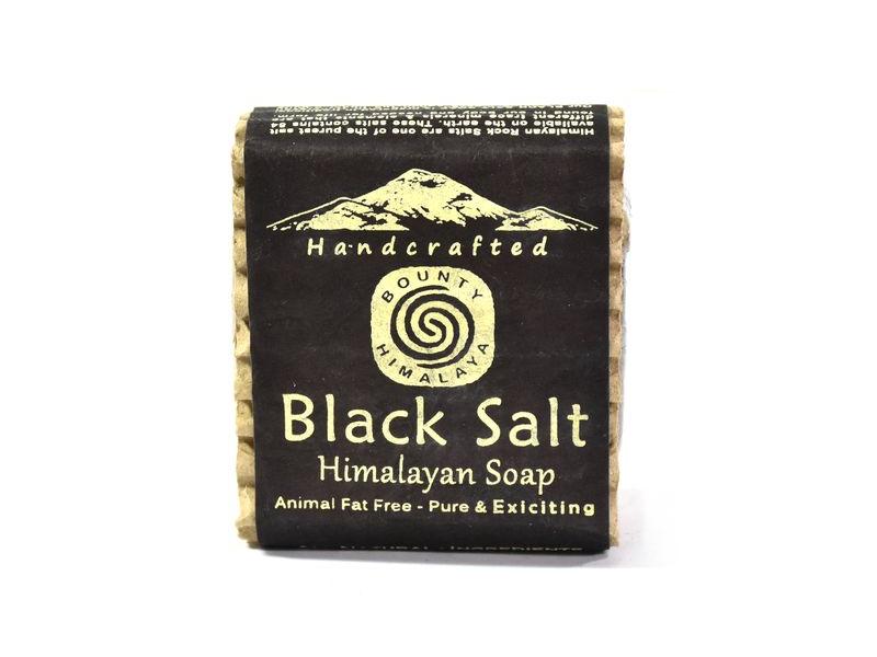 Ručně vyráběné mýdlo z Himálaje, černá sůl, 100g