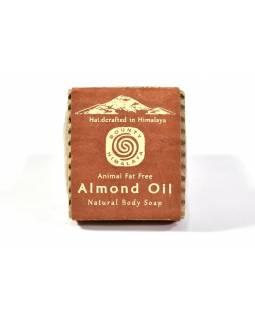Ručně vyráběné mýdlo z Himálaje, mandlový olej, 100g